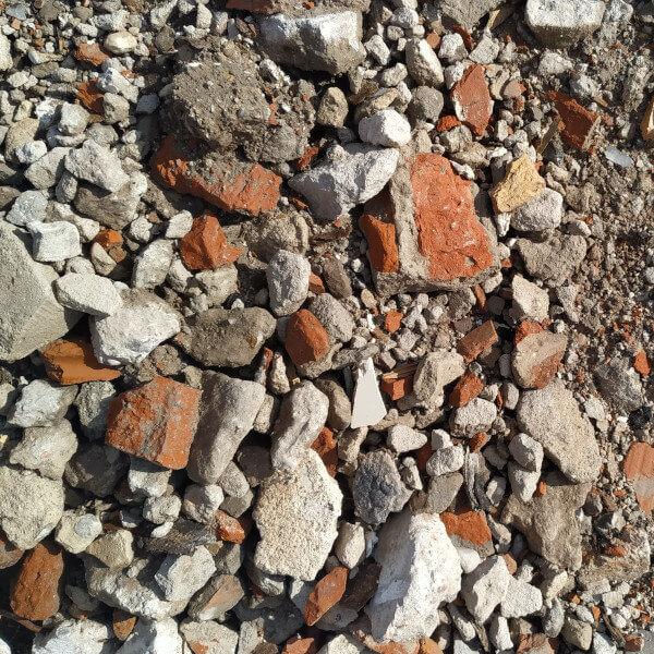 Gruz ceglano-betonowy